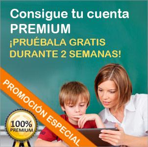 Promoción especial - Consigue tu cuenta Premium - ¡Pruébala gratis durante 2 semanas!
